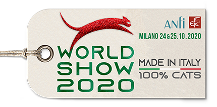 FIFe WORLD CAT SHOW 2020 ITALY Logo